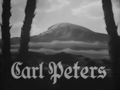 CARL PETERS 1941