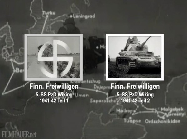 FINISH VOLUNTEERS 5th SS PzD WIKING 1941-42