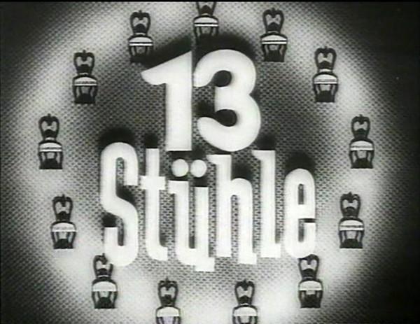 Dreizehn Stühle 1938 Filmhauer
