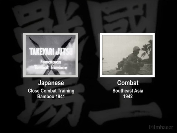 JAPANESE CLOSE COMBAT TRAINING 1941 - COMBAT IN SOUTHEAST ASIA 1942