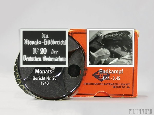 MONATS-BILDBERICHT Nr. 20 1943 - BATTLE TO THE END 4.44 - 3.45