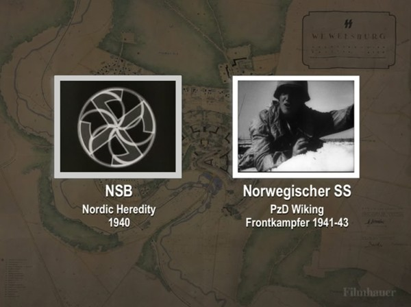 NORWEGIAN SS DIV WIKING 1941-43 - NORDIC HEREDITY 1940