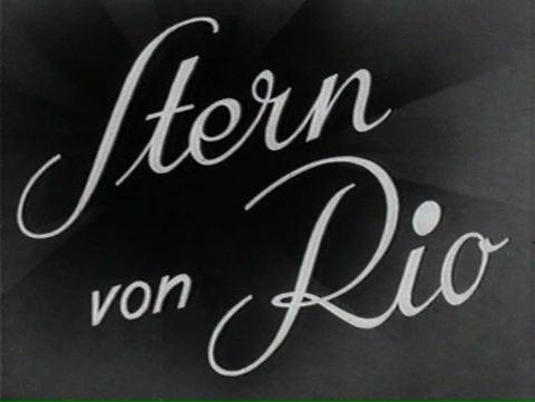 Stern Von Rio 1940 Filmhauer