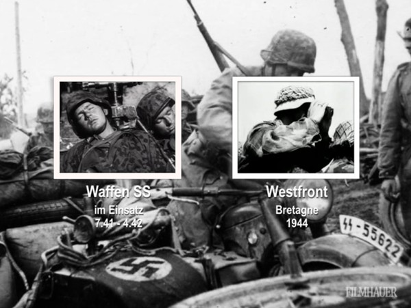 WAFFEN SS IN ACTION Part 4: 7.41-4.42 - WESTERN FRONT, BRETAGNE 1944